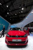 Volkswagen Golf 7 at Paris Motor Show 2012 — Stock Photo