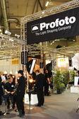 Profoto licht stand auf der photokina 2008 — Stockfoto