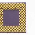 CPU of a desktop computer — Stock Photo