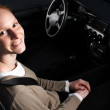 A Happy Woman in a Car — Stock Photo #26954803