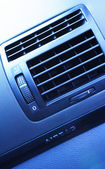 Car Interior - Ventilation Detail — Stock Photo