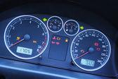 A Modern Car Dashboard — Stock Photo