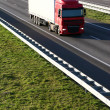 Cargo Truck on the Highway — Stock Photo