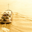 Small Cargo Boat on Water — Stock Photo #27011745
