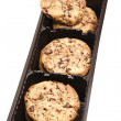 Chocolate chip cookies — Foto de Stock