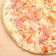 Pizza Hawaii on a Board — Foto de Stock