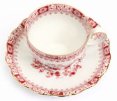 Luxurious tea cup, top view — Stock Photo