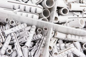 Plastic Wall Plugs — Stockfoto