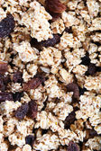 Cereal with Dark Raisins — Stock Photo