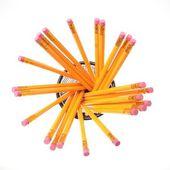多くの黄色の鉛筆 — ストック写真