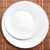 Restaurant Table Placement — Stock Photo