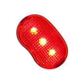 A Bicycle Rearlight — Stock Photo