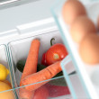 An Open Fridge with Food — Stock Photo #27073045