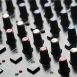 Audio Mixing Board — Stock Photo #27073229