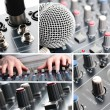 Sound Mixing — Stock Photo