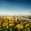 The Skyline of Rotterdam, the Netherlands — Stock Photo