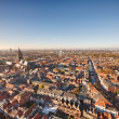 Stock Photo: Aerial view of Delft, Netherlands