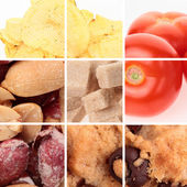 Various Foods - Collection — Stock Photo