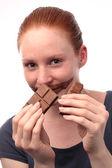 Addicted to Chocolate — Stock Photo