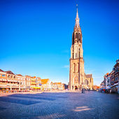 Nieuwe Kerk - the New Church in Delft, Holland — Stock Photo