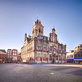 The Renaissance style City Hall of Delft, Holland — Stock Photo
