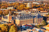 Delft, the Netherlands in the autumn — Stock Photo