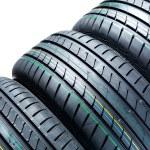 Car tires — Stock Photo #27136113