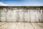 Remaining elements of the Berlin Wall — Stock Photo