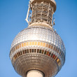 Stock Photo: The sphere of the TV tower in Berlin