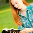 A Woman Reading a Bible — Stock Photo #30647335