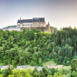 The Vianden Castle, Luxembourg — Stockfoto