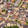 Rooftops and houses from Vianden — Stock Photo