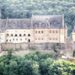 Closeup of the Vianden Castle, Luxembourg — Stock Photo