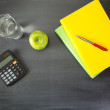 School and Education Objects — Stock Photo