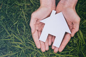 Buy or Build a New Home — Stock Photo