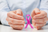 Awareness of Breast Cancer among Women — Stock Photo