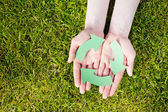 Green Recycling Concept — Stock Photo