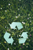 Nature and Recycling — Stock Photo