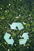 Natura e riciclaggio — Foto Stock