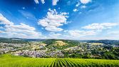 Panoramic View of Saarburg, Germany — Stock Photo