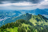 Stormy Mountain Landscape - the Alps — Stock Photo