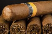 Big Cuban Cigars — Stock Photo