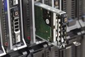 Hard Drive in Blade Server — Stock Photo
