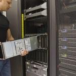 Install Blade Server — Stock Photo #27638547