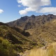 Stock Photo: Valley and Moutain at Canary Island