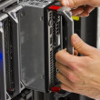 Replace Blade Server — Stock Photo #28018125