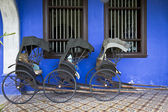 Tuk-Tuk's at Blue Mansion — Stock Photo