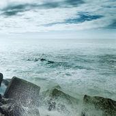 Windigen küste — Stockfoto