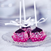 Homemade Cake Pops — Stock Photo