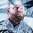 Paranoid Dude with Tin Foil Hat — Stock Photo #28022175